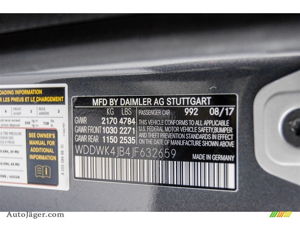 2018 C 300 Cabriolet - Selenite Grey Metallic / Saddle Brown/Black photo #10