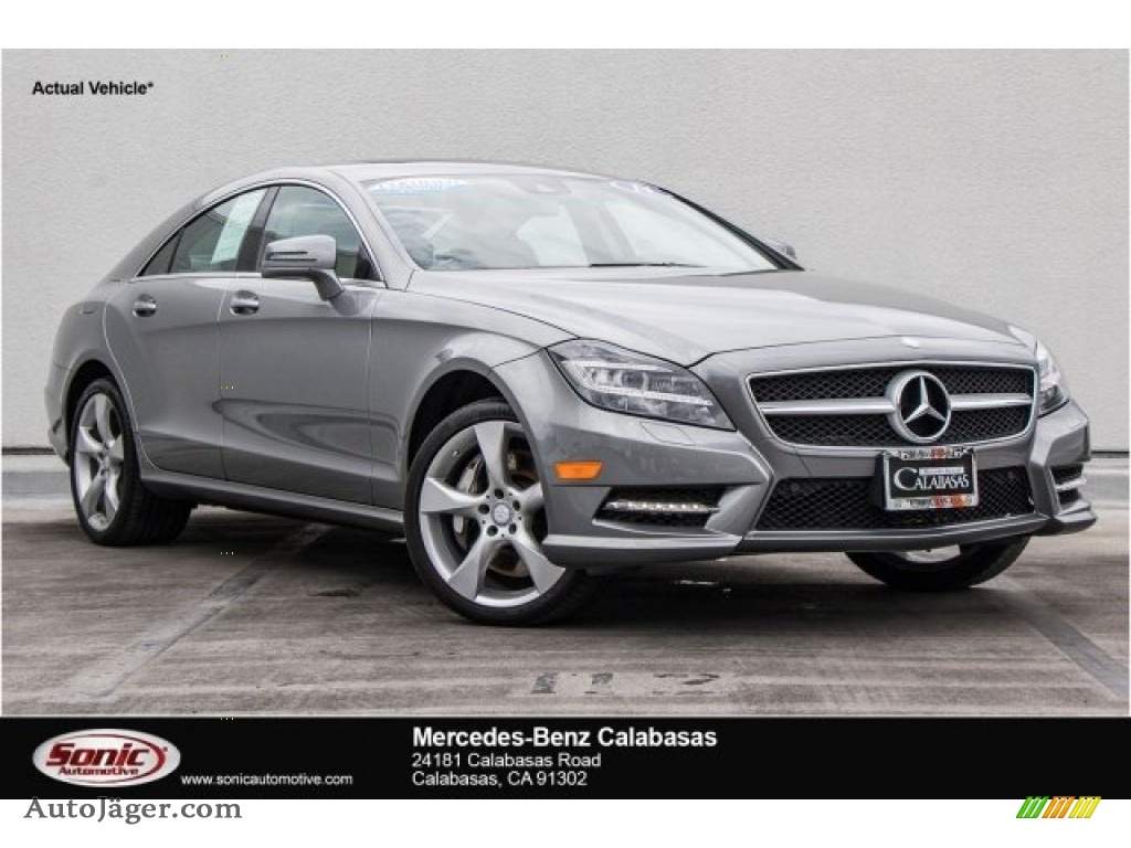 2014 CLS 550 Coupe - Palladium Silver Metallic / Ash/Black photo #1