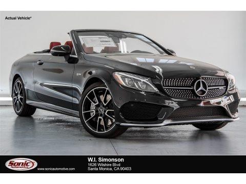 Black 2018 Mercedes-Benz C 43 AMG 4Matic Cabriolet
