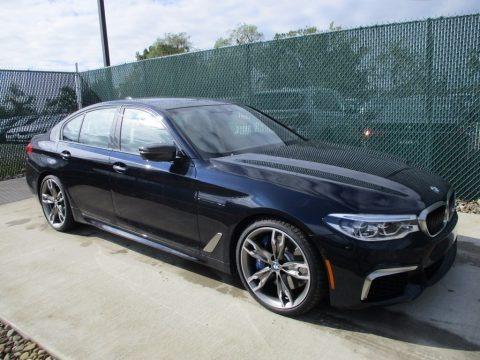 Carbon Black Metallic 2018 BMW 5 Series M550i xDrive Sedan