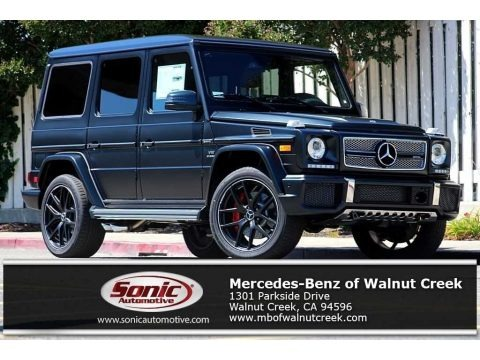 designo Night Black Magno (Matte) 2017 Mercedes-Benz G 65 AMG