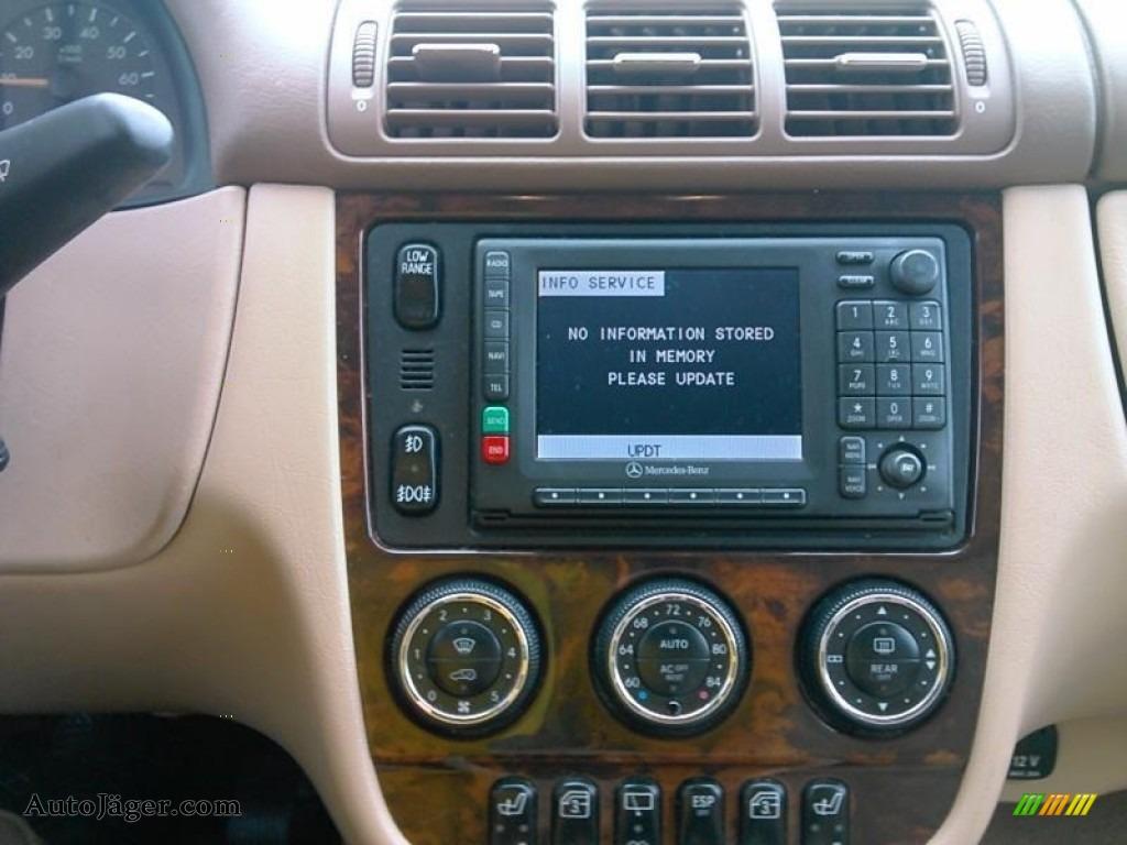 2003 ML 350 4Matic - Alabaster White / Java photo #4