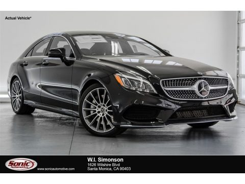 Black 2018 Mercedes-Benz CLS 550 Coupe