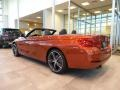 BMW 4 Series 430i xDrive Convertible Sunset Orange Metallic photo #2
