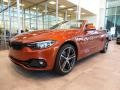 BMW 4 Series 430i xDrive Convertible Sunset Orange Metallic photo #3