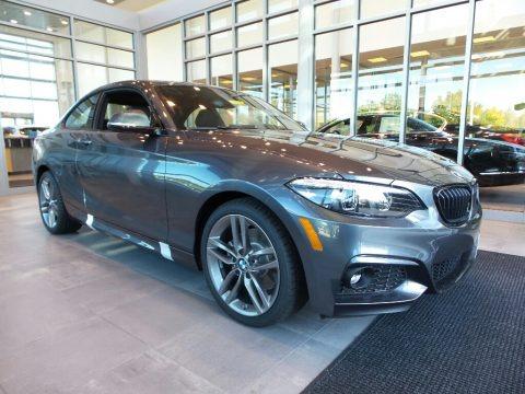 Mineral Grey Metallic 2018 BMW 2 Series 230i xDrive Coupe