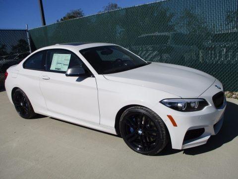Alpine White 2018 BMW 2 Series M240i xDrive Coupe