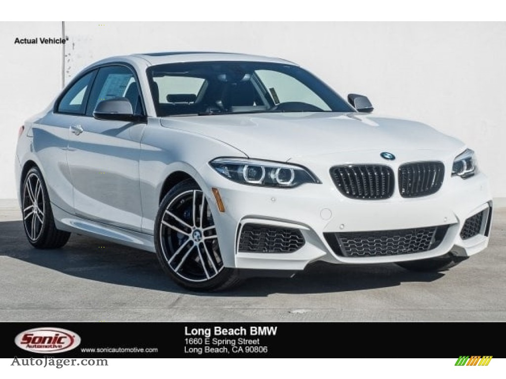 2018 2 Series M240i Coupe - Alpine White / Black photo #1