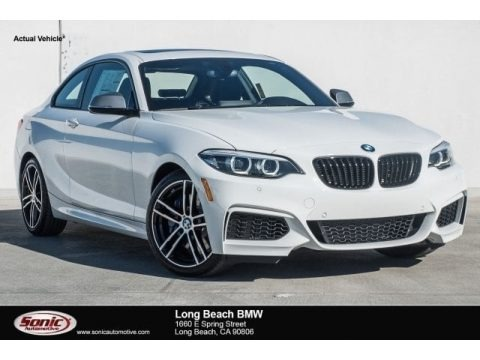 Alpine White 2018 BMW 2 Series M240i Coupe