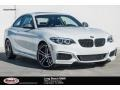 BMW 2 Series M240i Coupe Alpine White photo #1