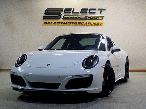 Carrara White Metallic 2017 Porsche 911 Carrera 4S Coupe