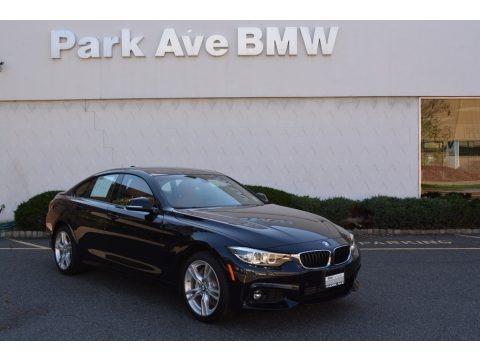 Jet Black 2018 BMW 4 Series 430i xDrive Gran Coupe