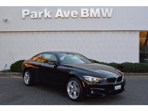 Black Sapphire Metallic 2018 BMW 4 Series 430i xDrive Coupe