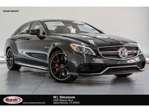 Obsidian Black Metallic 2018 Mercedes-Benz CLS AMG 63 S 4Matic Coupe
