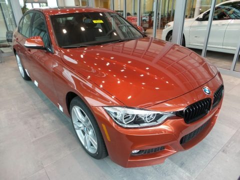 Sunset Orange Metallic 2018 BMW 3 Series 330i xDrive Sedan