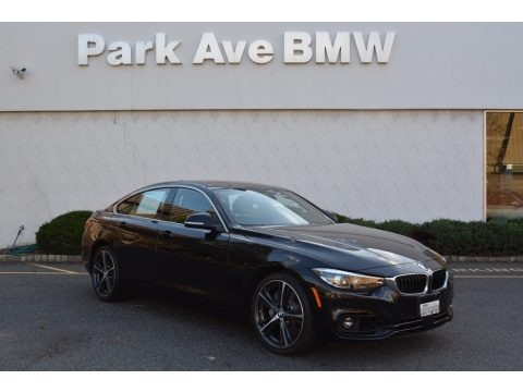 Black Sapphire Metallic 2018 BMW 4 Series 440i Gran Coupe