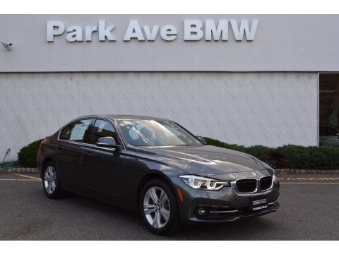 Mineral Grey Metallic 2017 BMW 3 Series 330i xDrive Sedan