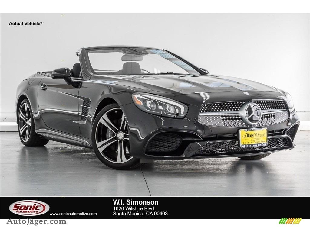 2018 SL 450 Roadster - Black / Black photo #1