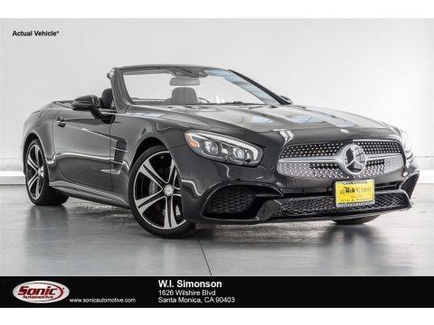 Black 2018 Mercedes-Benz SL 450 Roadster