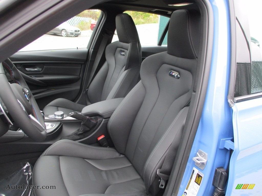 2018 M3 Sedan - Yas Marina Blue Metallic / Black photo #11