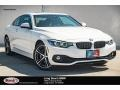 BMW 4 Series 440i Coupe Alpine White photo #1