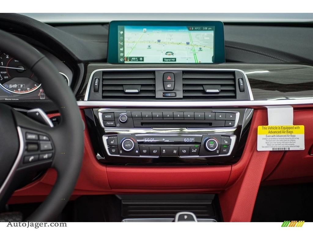 2018 4 Series 440i Convertible - Alpine White / Coral Red photo #5