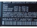 BMW 4 Series 440i Coupe Black Sapphire Metallic photo #11