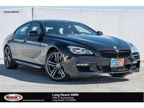 Black Sapphire Metallic 2018 BMW 6 Series 650i Gran Coupe