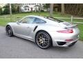 Porsche 911 Turbo S Coupe GT Silver Metallic photo #4