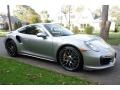 Porsche 911 Turbo S Coupe GT Silver Metallic photo #8