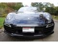 Porsche 911 Turbo S Cabriolet Basalt Black Metallic photo #2
