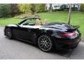 Porsche 911 Turbo S Cabriolet Basalt Black Metallic photo #4
