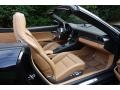Porsche 911 Turbo S Cabriolet Basalt Black Metallic photo #14