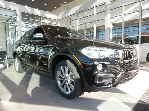 Jet Black 2018 BMW X6 xDrive35i
