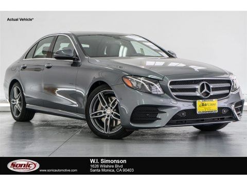Selenite Grey Metallic 2018 Mercedes-Benz E 300 Sedan