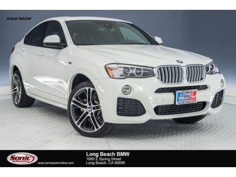 Alpine White 2018 BMW X4 xDrive28i