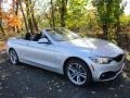 BMW 4 Series 430i xDrive Convertible Glacier Silver Metallic photo #4