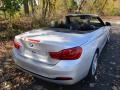 BMW 4 Series 430i xDrive Convertible Glacier Silver Metallic photo #6