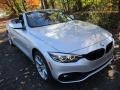 BMW 4 Series 430i xDrive Convertible Glacier Silver Metallic photo #11