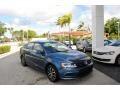 Volkswagen Jetta SE Silk Blue Metallic photo #1