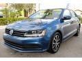 Volkswagen Jetta SE Silk Blue Metallic photo #5