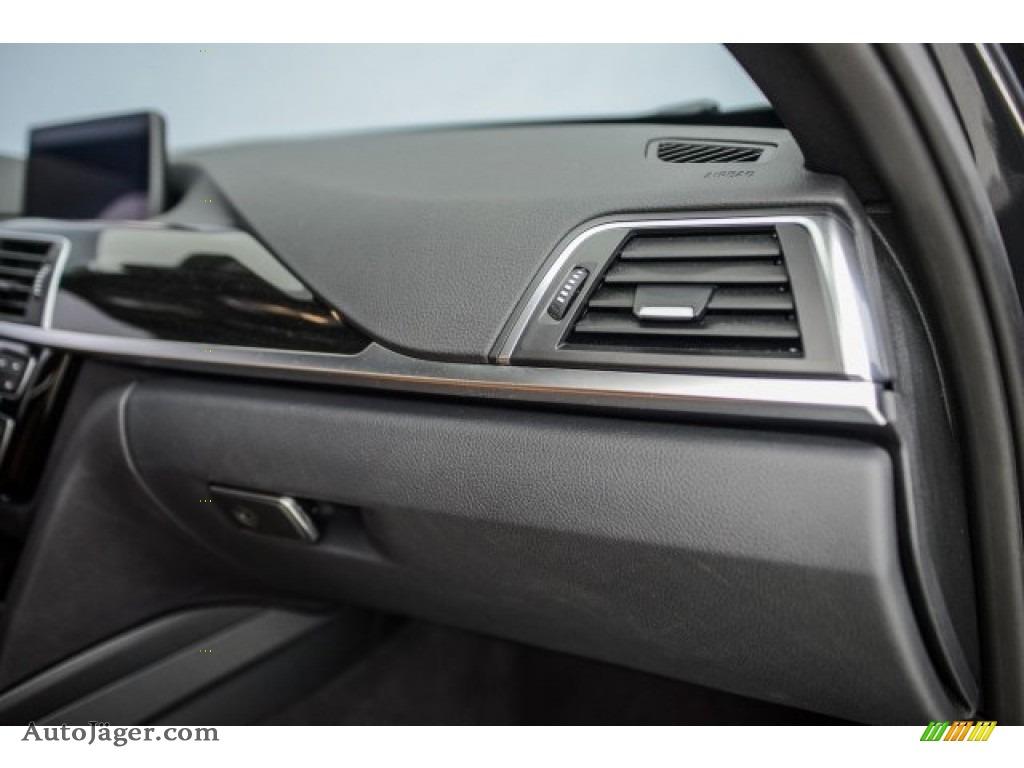 2017 3 Series 330i Sedan - Mineral Grey Metallic / Saddle Brown photo #21
