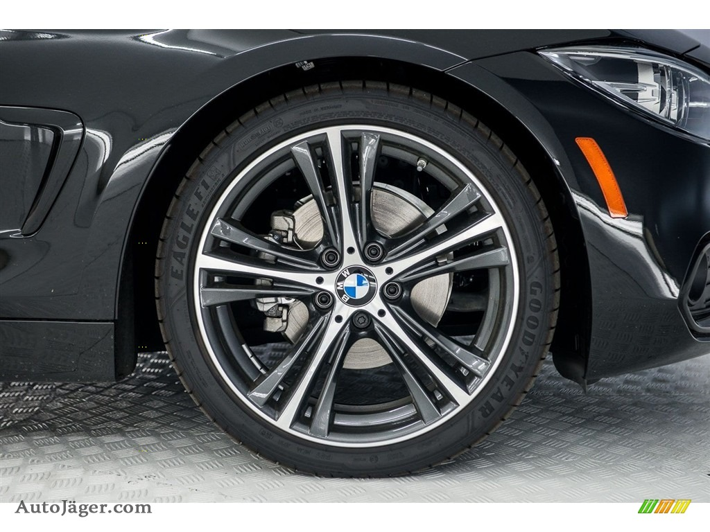 2018 4 Series 430i Coupe - Black Sapphire Metallic / Black photo #9