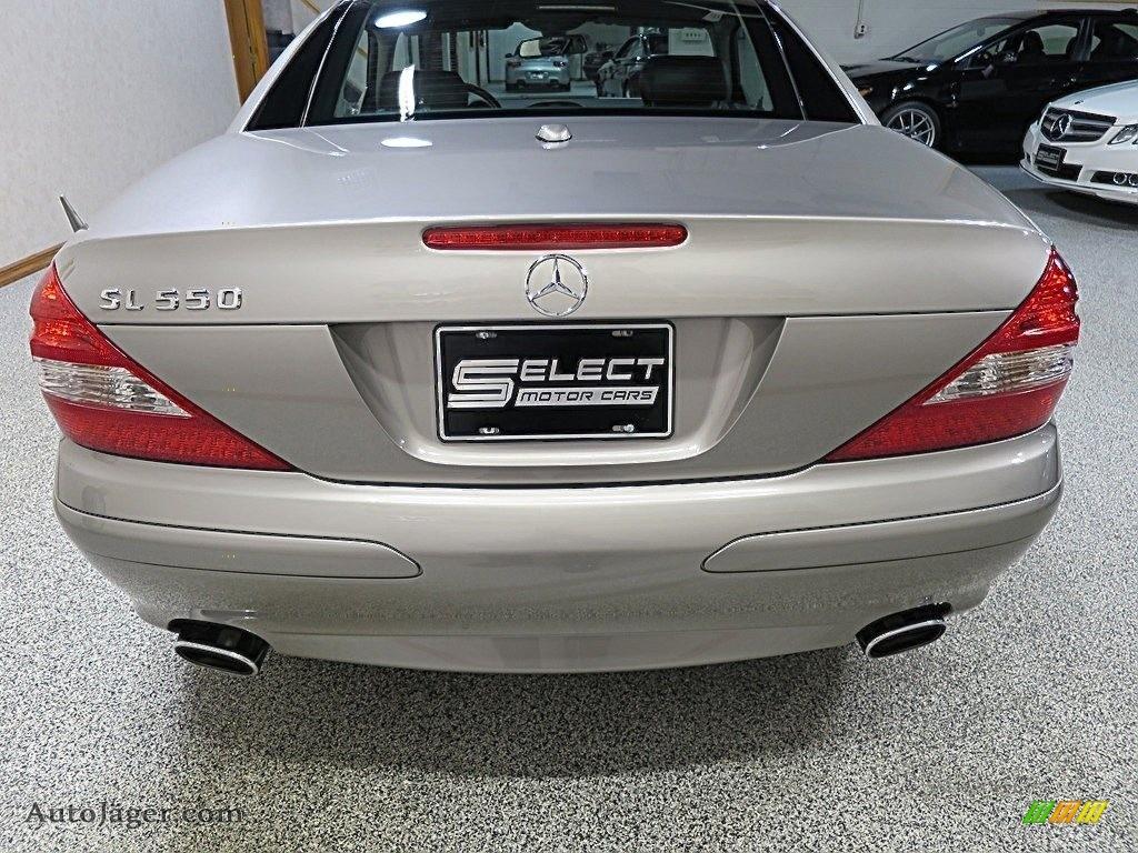 2007 SL 550 Roadster - Pewter Metallic / Black photo #5