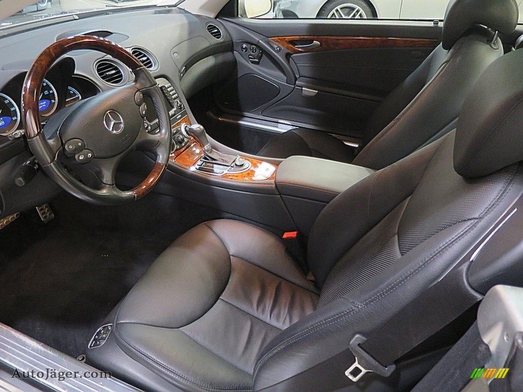 2007 SL 550 Roadster - Pewter Metallic / Black photo #16
