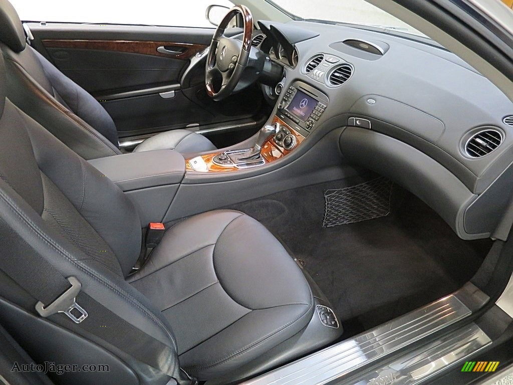 2007 SL 550 Roadster - Pewter Metallic / Black photo #18