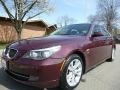 BMW 5 Series 535xi Sedan Barbera Red Metallic photo #1