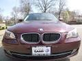 BMW 5 Series 535xi Sedan Barbera Red Metallic photo #9