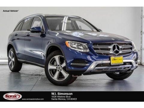 Brilliant Blue Metallic 2018 Mercedes-Benz GLC 300