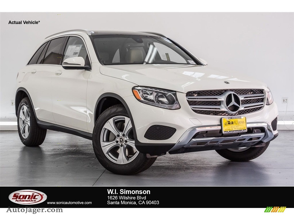2018 GLC 300 - Polar White / Silk Beige/Black photo #1